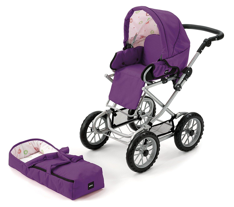 Brio 24891310 - Puppenwagen Combi, violett Lila