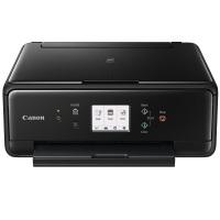 Canon PIXMA TS6050 Farbtintenstrahl-Multifunktionsgerät (Drucken, Scannen, Kopieren, 5 separate Tinten, WLAN, Print App, Duplex, 4.800 x 1.200 dpi) schwarz