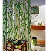 Der Duschvorhang Wannenvorhang Bambusmotiv Bamboo ist auf dem 6. Platz.