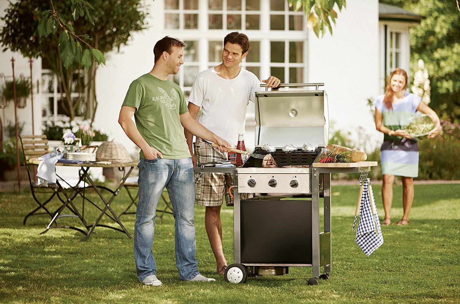 Enders Gasgrill Oakland 3 S Test : Enders oakland s gasgrill brenner amazon garten