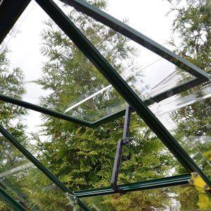 Gewächshaus Green Line 6 x 10 inkl. Stahlfundament Licht