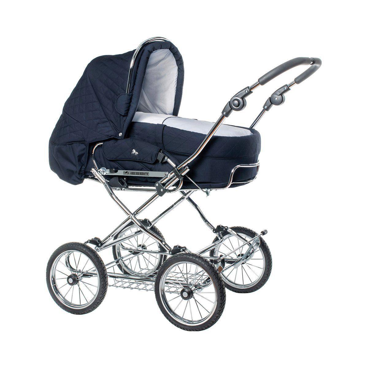 HESBA Condor Coupé Kombikinderwagen Baby, blau