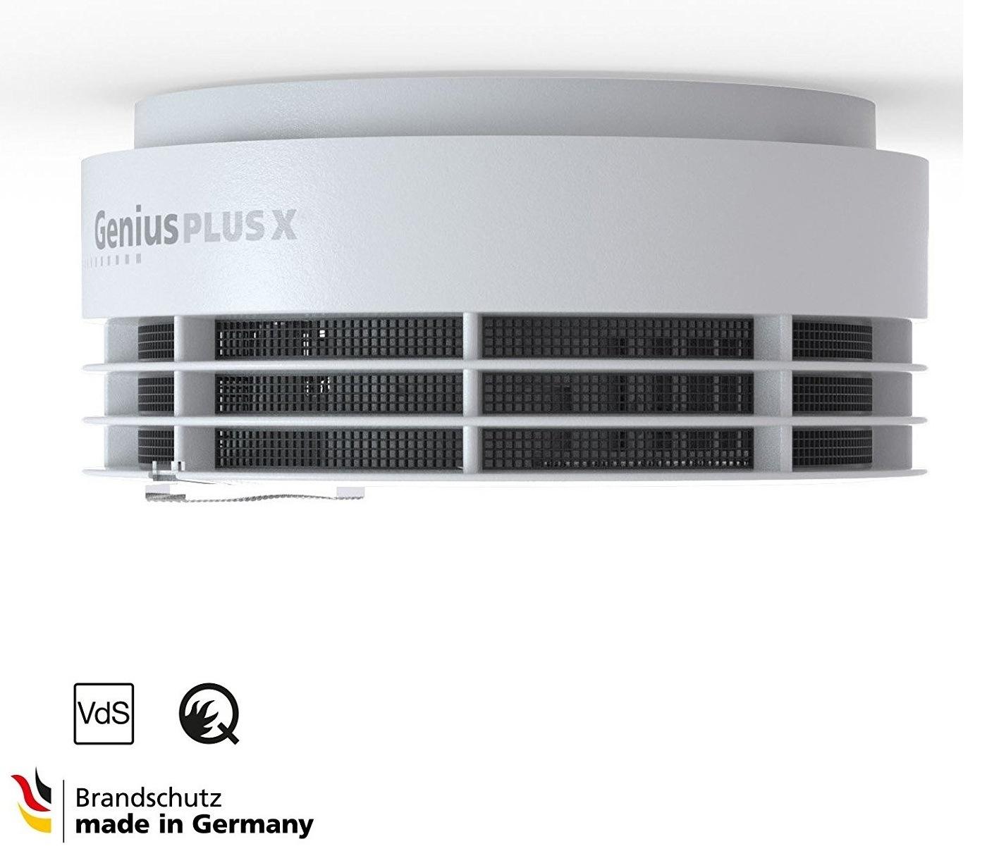 Rauchmelder Genius Plus X1 von Hekatron in weiß