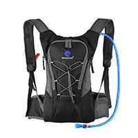 Hydration-Rucksack-Trinkrucksack(12L)-mit-Trinkblase(2L)-Pack,Trinksystem-Backpack-Ideal-für-MTB-Fahrrad-Radfahren,-Wandern,-Laufen,-Camping-,-für-Reisen-Klettern-Outdoor-Sports