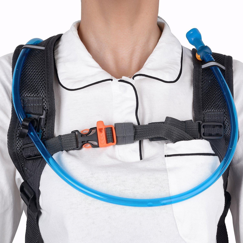 Hydration Rucksack Trinkrucksack12L Mit Trinkblase2L PackTrinksystem Backpack Ideal Für MTB Fahrrad Radfahren Wandern Laufen
