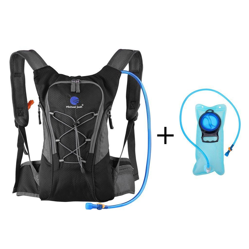 Hydration Rucksack Trinkrucksack12L Mit Trinkblase2L PackTrinksystem Backpack Ideal Für MTB Fahrrad