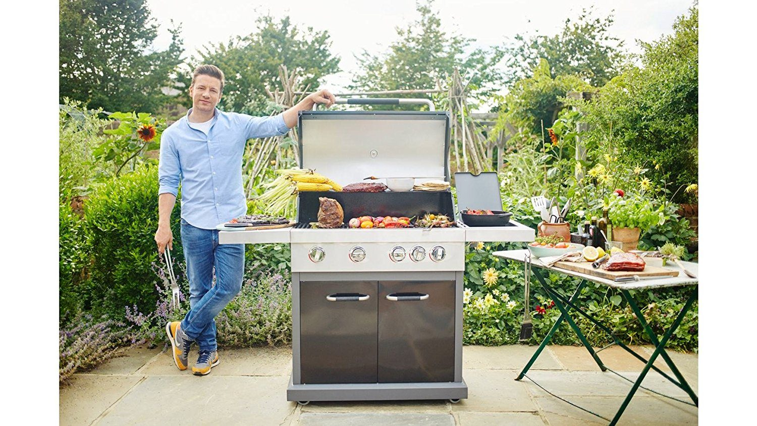 Tepro Gasgrill Vancouver Test : Jamie oliver gasgrill expertentesten