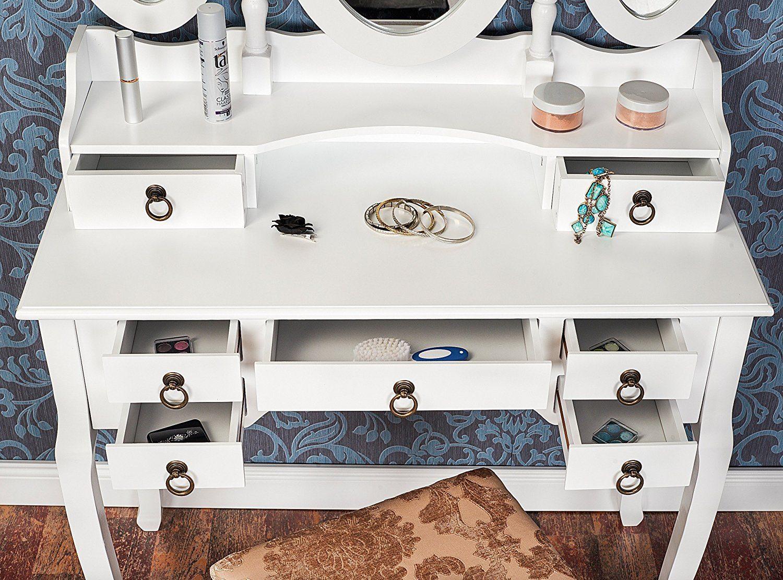 schminktisch test 2018 die 10 besten schminktische im vergleich. Black Bedroom Furniture Sets. Home Design Ideas
