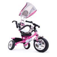 Kiddo-Rosa-Smart-Design-4-in-1-für-Kinder-Dreirad-Kinder-Trike-3-Räder-Fahrrad-Eltern-Neue-(Rosa)