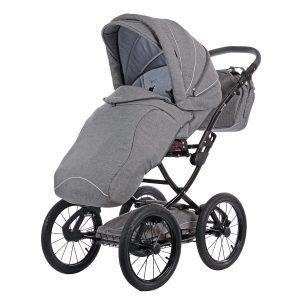 Knorr-Baby 36000-4 Kombikinderwagen Classico in grau