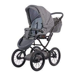 Knorr-Baby 36000-4 Kombikinderwagen Classico, hellgrau