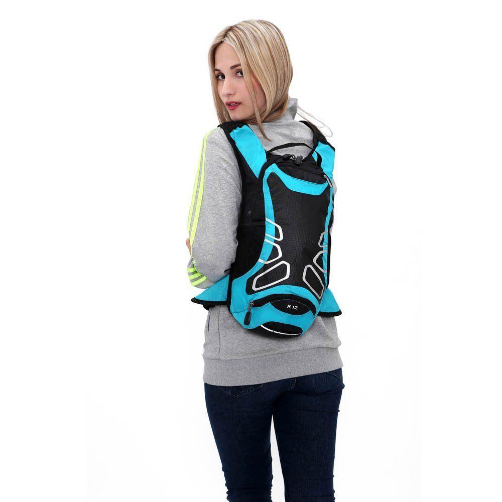 Lixada 12L Wasserabweisend Fahrrad Schulter Rucksack Wasser Reisetasche Ultralight Für Radsport Outdoor Reiten Bergsteigen Hydration 1