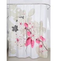 Magic Vida Dekorative Blumen Duschvorhang Pfirsichblüte