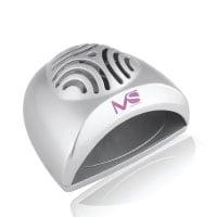 MelodySusie® tragbare Mini Größe Handlich Nagel-Trockner / Mini-Ventilator Lichthärtungsgerät zur Trocknung von Nagellack & Acrylnagel Silber