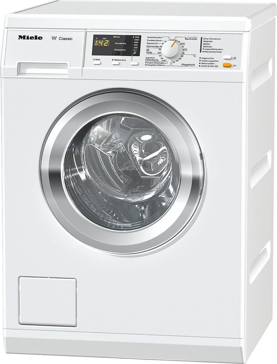 Die Miele WDA 110 WCS Waschmaschine in der Frontansicht