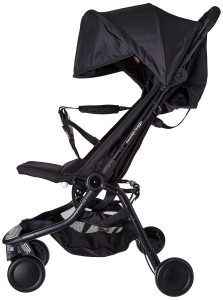 Mountain Buggy nano-v2 – 5 Kinderwagen in schwarz