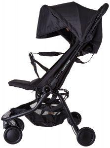 Mountain Buggy nano-v2 – 5 Kinderwagen in schwarz