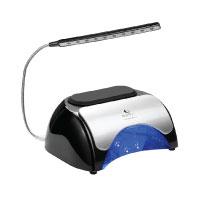 Nageltrockner USpicy 48W UV LED-Nagellampe Lichthärtungsgerät 10s Schnelltrocken Lüfter Ventilator für Nägel Nailart Drei Timer mit Sensor