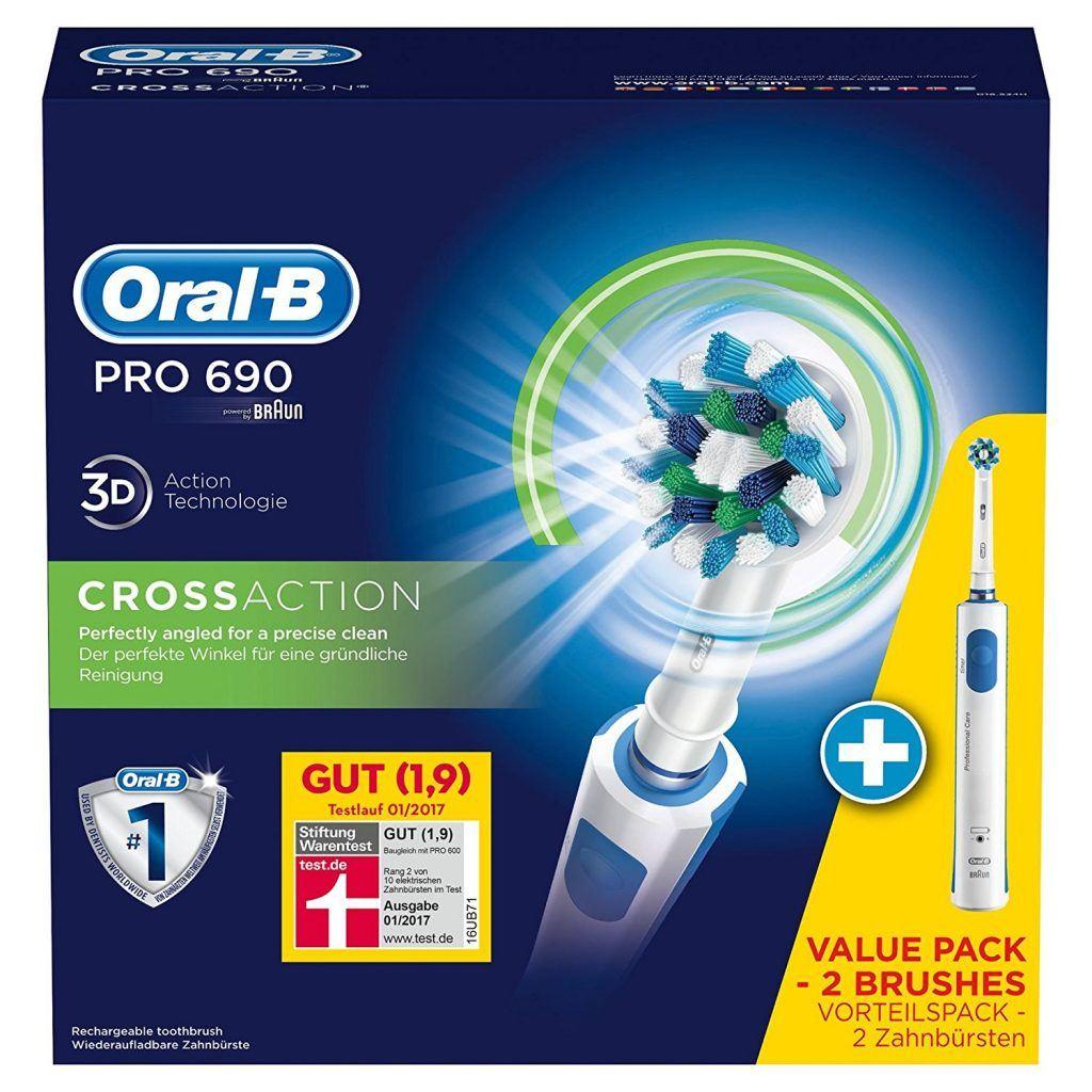 Elektrische Zahnbürste Oral-B Pro 690 in der Verpackung