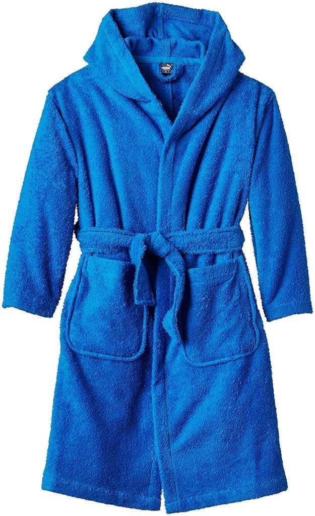 PUMA Kinder Bademantel ACTIVE Bathrobe BandG