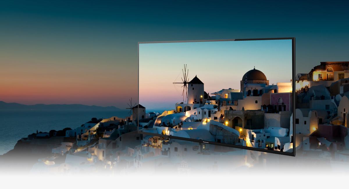 Panasonic Viera TX-55CRW434 140 cm (55 Zoll) Curved Fernseher
