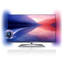 Philips 55PFL6008K/12 140 cm (55 Zoll) Fernseher (Full HD, Triple Tuner, 3D, Smart TV) [Energieklasse A+ to F]