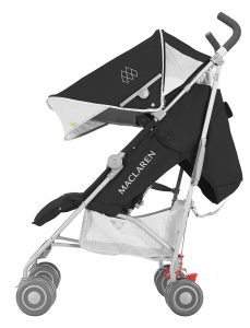 Quest Black-Silver Kinderwagen