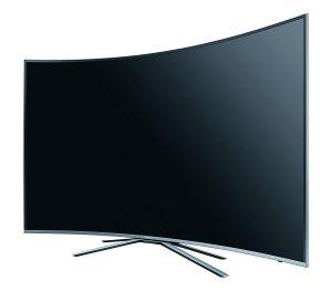 Samsung KU6509 198 cm (78 Zoll) Curved Fernseher (Ultra HD, Triple Tuner, Smart TV)