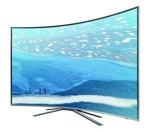 Samsung KU6509 198 cm (78 Zoll) Curved Fernseher (Ultra HD, Triple Tuner, Smart TV) [Energieklasse A]