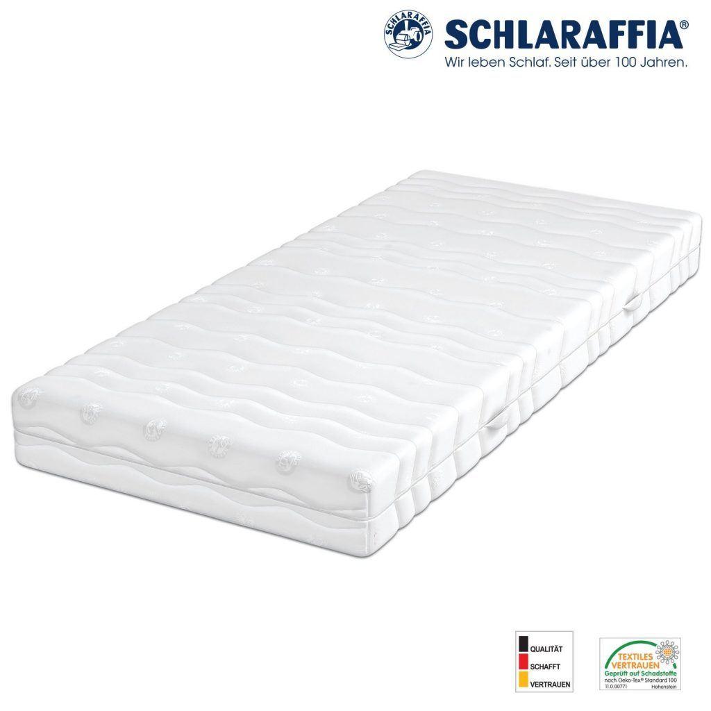 Schlaraffia Viva Plus Aqua Taschenfederkern Plus Matratze 100x200 H3.