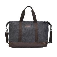Sel-Natural-Reisetasche-Canvas-Weekender-Tasche-Handgepäck-Sporttasche-für-Reise-am-Wochenend-Urlaub