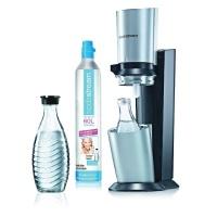 SodaStream-Wassersprudler-Set-Crystal---mit-dem-Glaskaraffen-Sprudler