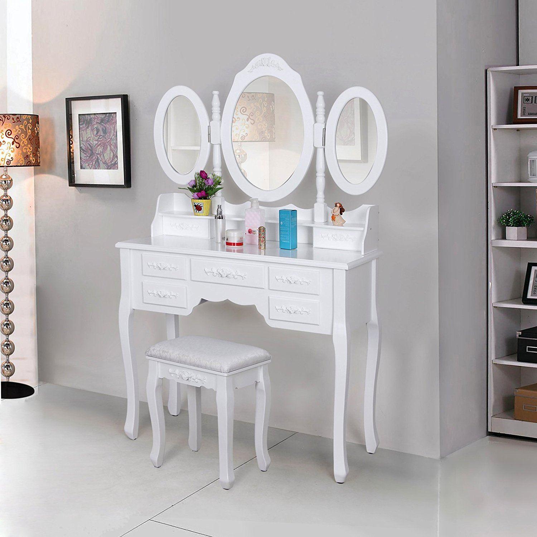 schminktisch test 2018 die 10 besten schminktische im. Black Bedroom Furniture Sets. Home Design Ideas