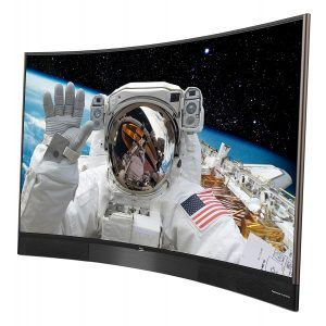 TCL U65S8806DS 165 cm (65 Zoll) Curved Fernseher (Ultra HD, Triple Tuner, Smart TV) [Energieklasse A]