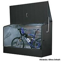 Fahrradbox anthrazit von Tepro