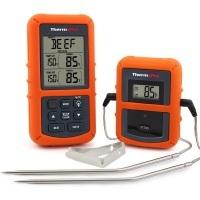 ThermoPro TP20 Digital BBQ Funk Thermometer Wireless mit 2 Temperaturfühlern im Vergleich