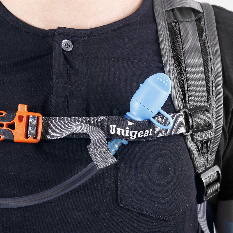 Trinkrucksack Hydrationspack Mit 2L Trinkblase Für Joggen Wandern Radfahren Camping Und Bergsteigen 1