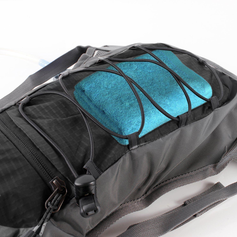 Trinkrucksack Hydrationspack Mit 2L Trinkblase Für Joggen Wandern Radfahren Camping Und Bergsteigen 2