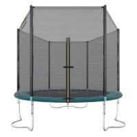 Ultrasport Gartentrampolin Jumper, Trampolin Komplettset inklusive Sprungmatte, Sicherheitsnetz, gepolsterten Netzpfosten und Randabdeckung