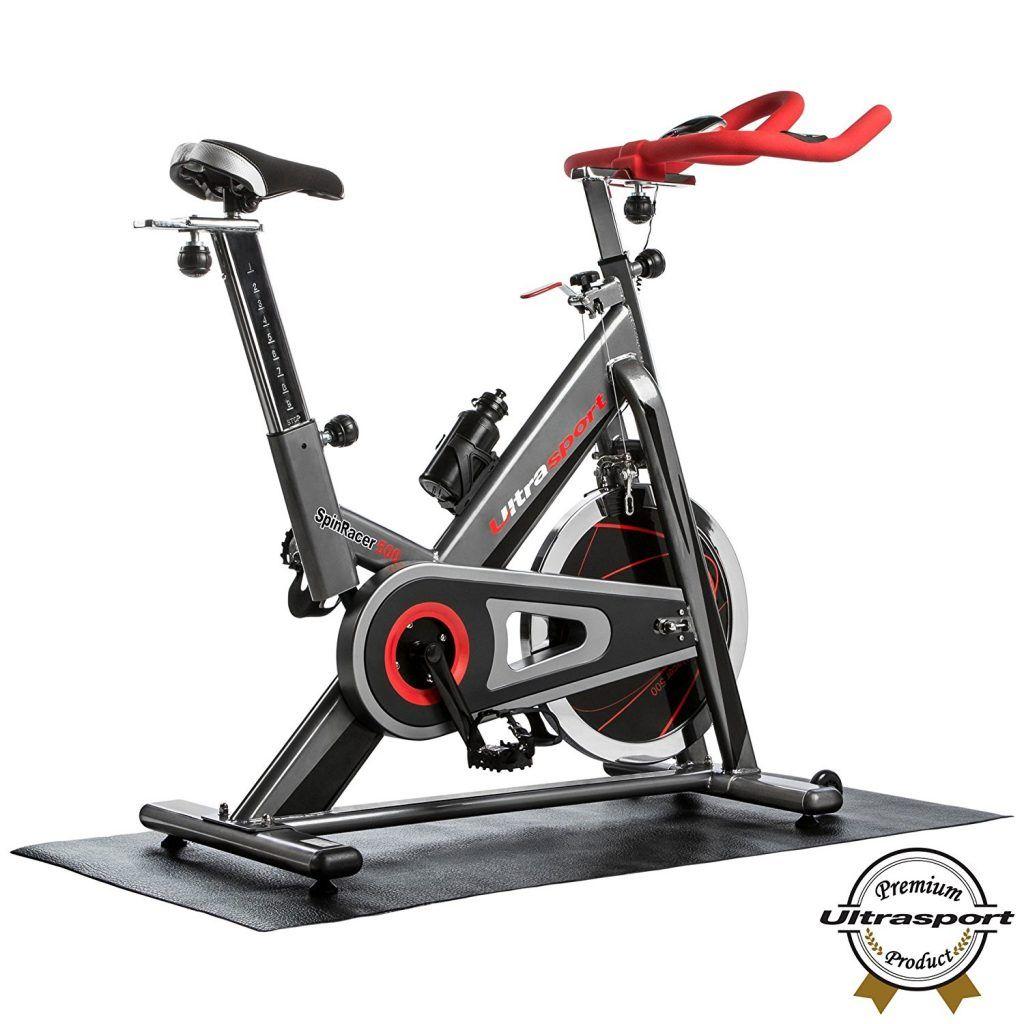 Heimtrainer Ultrasport Premium Indoor SpinRacer-500 mit Handpuls Sensoren