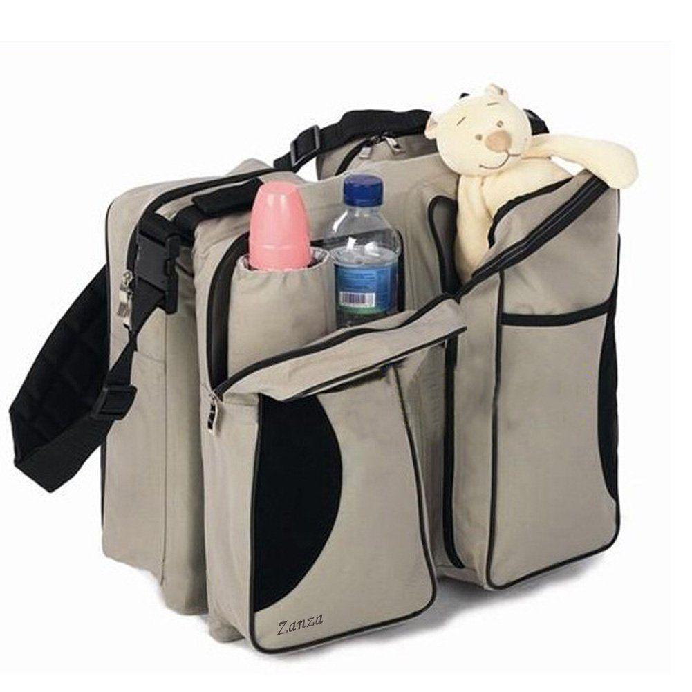 Zanza 3 in 1-Wickeltasche, Mehrzweck-Tasche, für Reisen, für Stubenwagen