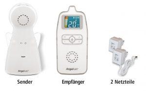 Babphone AC423 von Angelcare in drei Teile
