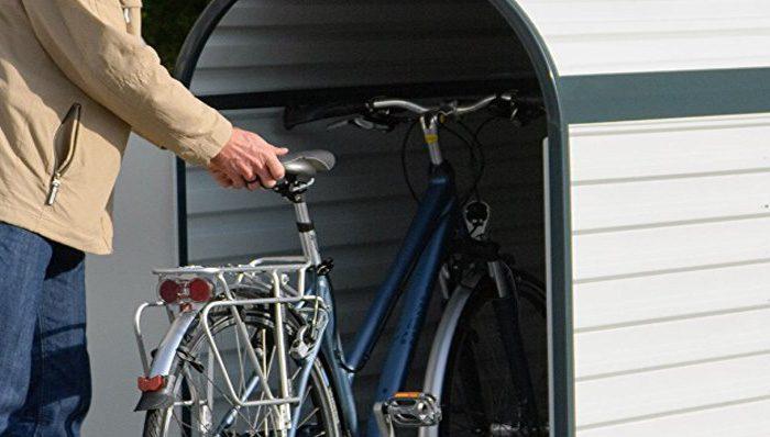fahrradbox test 2018 die 14 besten fahrradboxen im vergleich expertentesten. Black Bedroom Furniture Sets. Home Design Ideas