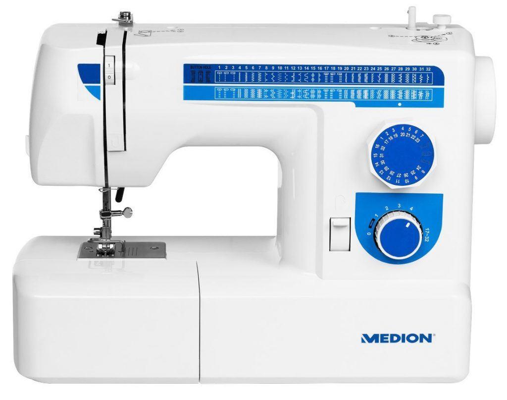 Nähmaschine Medion MD 17187 Frontansicht