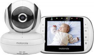 Babyphone MBP 36s von Motorola mit Kugelkopfkamera