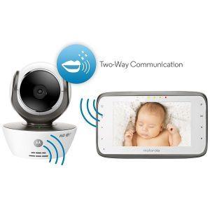 Babyphone Motorola MPB-854 mit Zweiwegekontakt