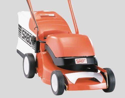 Elektro Rasenmäher von Sabo von vorne