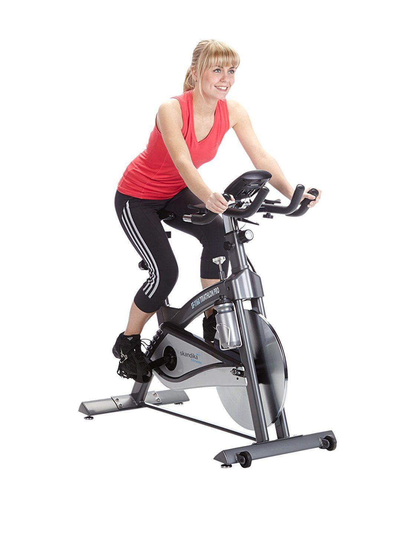 skandika Indoor Cycle Triathlon Pro Mars, SF-1160, Speed bike, Trinkflaschenhalterung und Trinkflasche