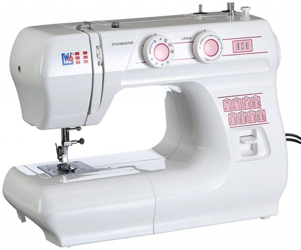 W6 Nähmaschine Modell 1615 Frontansicht