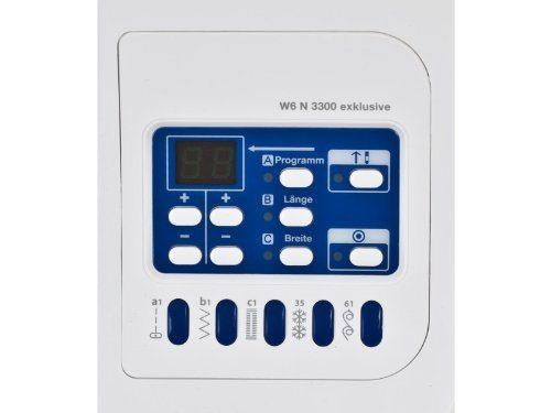Nähmaschine W6 N 3300 exclusive Display